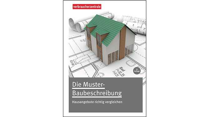 Ratgeber Muster Baubeschreibung Haus Angebote Richtig Vergleichen