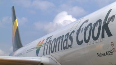 Flugzeug Thomas Cook Group